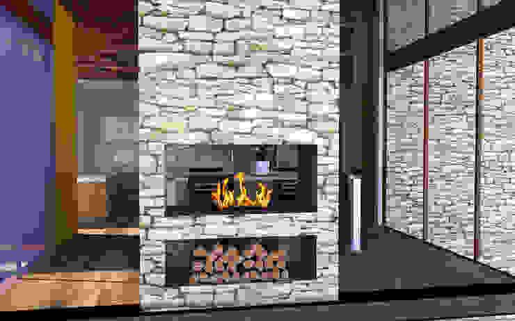Proyecto Casa MV Livings de estilo moderno de Qarquitectura Moderno