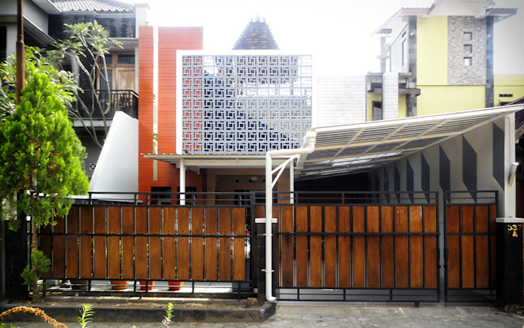 by studioindoneosia Modern Wood-Plastic Composite