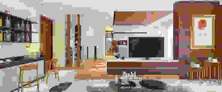 Master Bedroom Design Kelapa Gading - Mediterania Kamar Tidur Modern Oleh Multiline Design Modern Kayu Lapis
