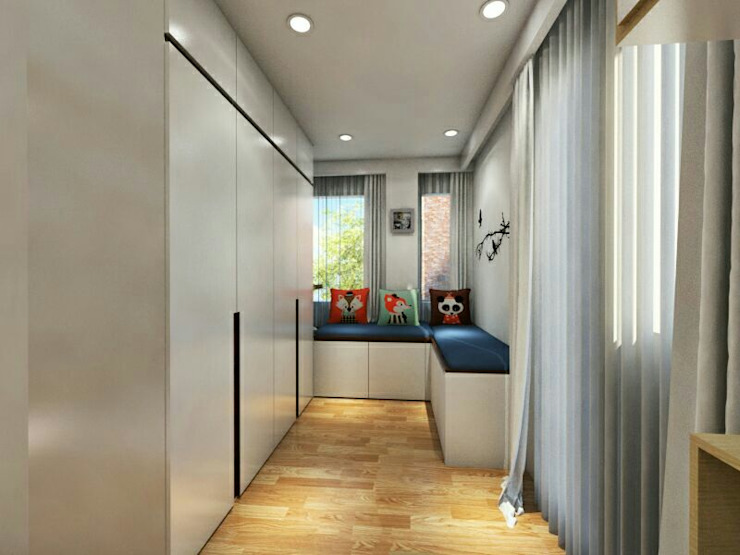Kid's Bedroom Interior Design Kelapa Gading – Mediterania Oleh Multiline Design Modern