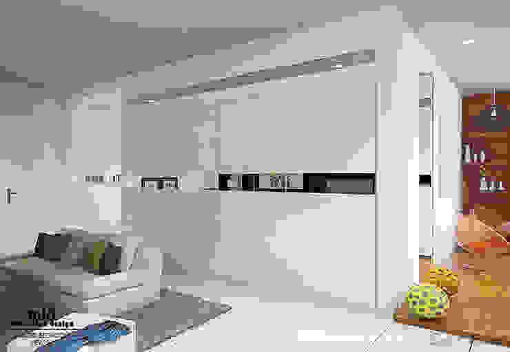 Master Bedroom Semarang – Bukit Wahid Regency Ruang Ganti Minimalis Oleh Multiline Design Minimalis