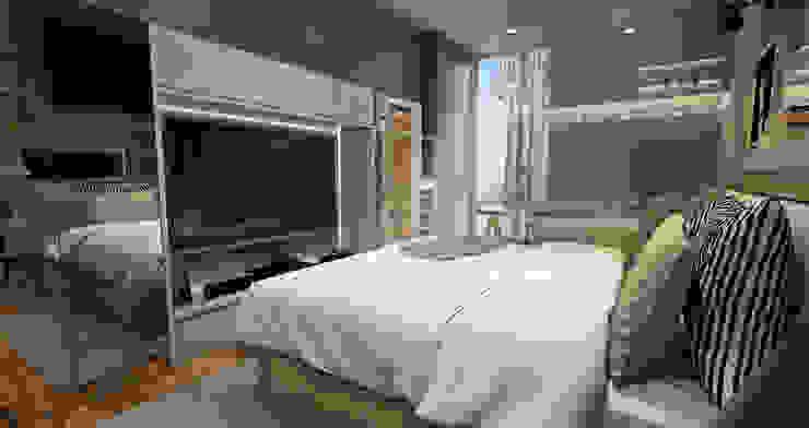 Studio Room – Puri Park View Kamar Tidur Minimalis Oleh Multiline Design Minimalis