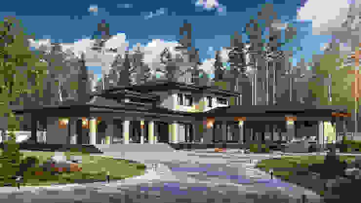 Casas de estilo escandinavo de Naturi Escandinavo