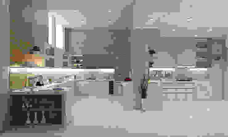Kitchen – Selayar Pantai Indah Kapuk Oleh Multiline Design Minimalis