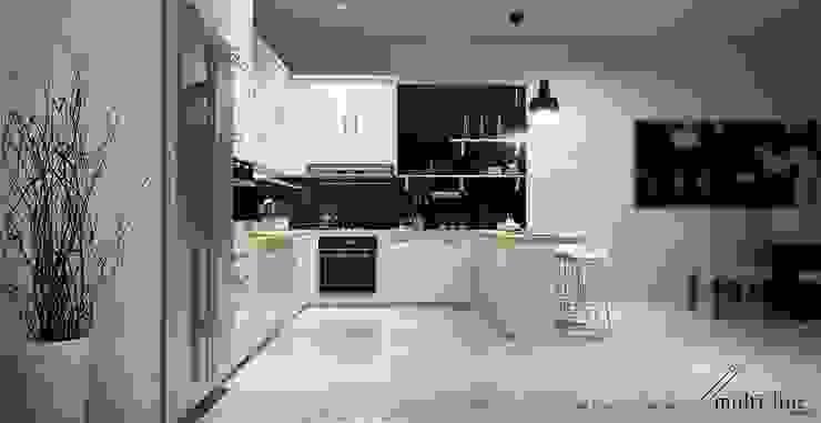 Kitchen – Taman Palm Oleh Multiline Design Minimalis