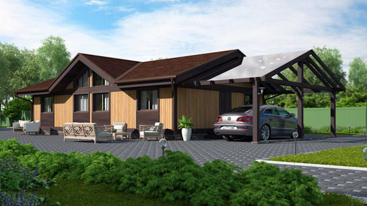 Naturi Scandinavian style houses