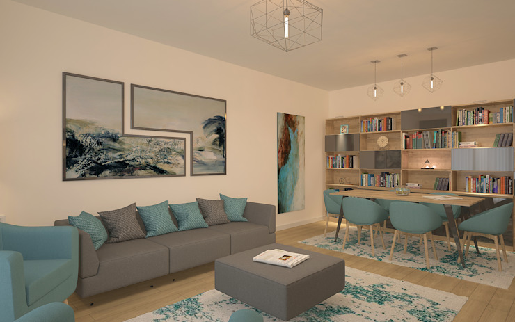 Modern living room by homify Modern Wood Wood effect