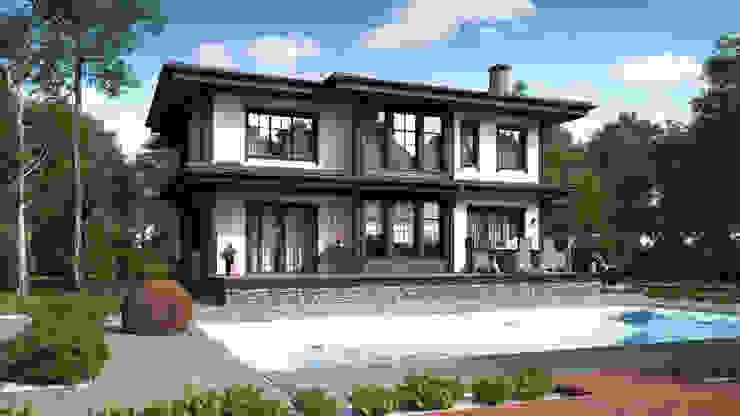 Minimalistyczne domy od Naturi Minimalistyczny