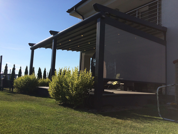 PERGOLA A.Ş. Garden Greenhouses & pavilions Aluminium/Zinc Grey