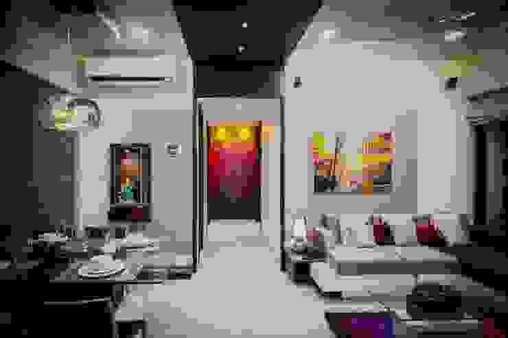 Living Area homify Modern living room Grey