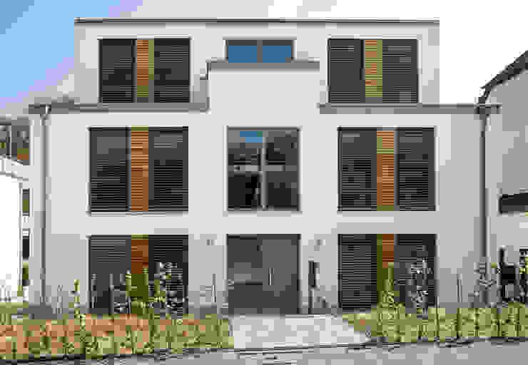 Ansicht Straße Architetkurbüro Schulz-Christofzik Mehrfamilienhaus