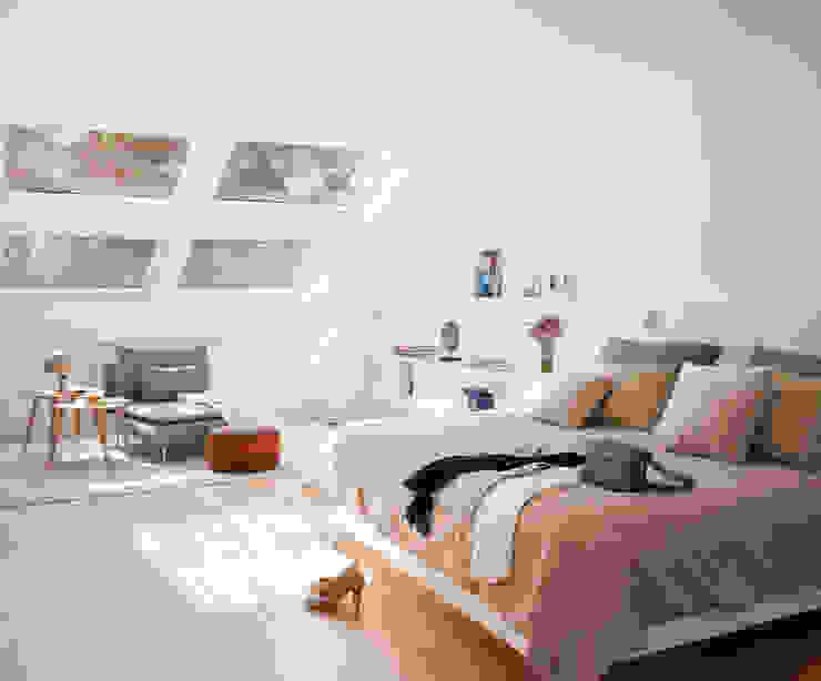 Dormitorio principal Dormitorios de estilo ecléctico de ESTER SANCHEZ LASTRA Ecléctico