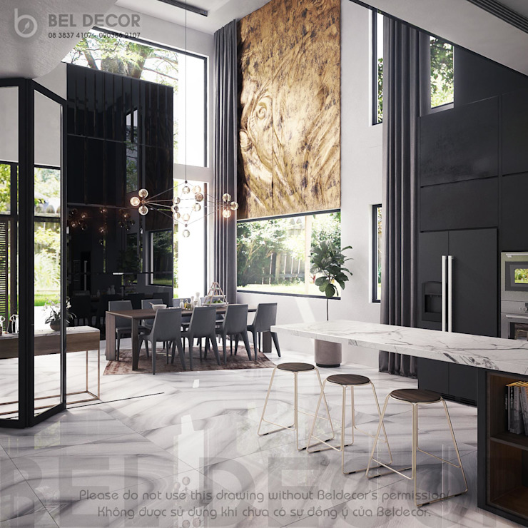 Dining Room bởi Bel Decor
