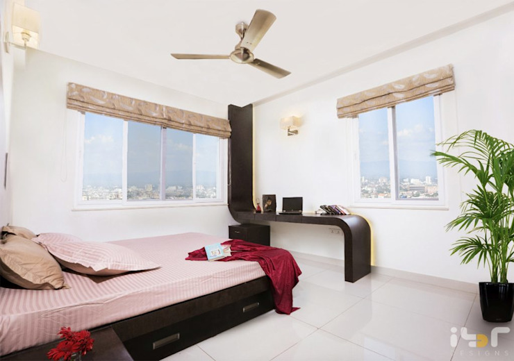 bedroom Modern style bedroom by Interiors by ranjani Modern