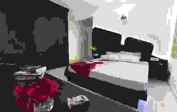 bedroom: modern  by Interiors by ranjani,Modern