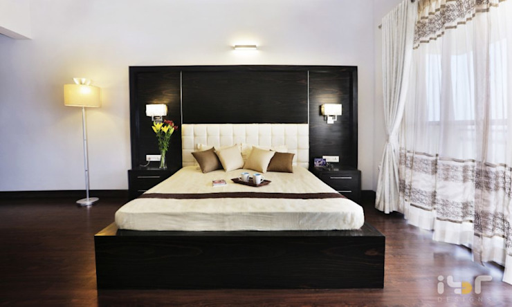 Bedroom: modern  by Interiors by ranjani,Modern Leather Grey