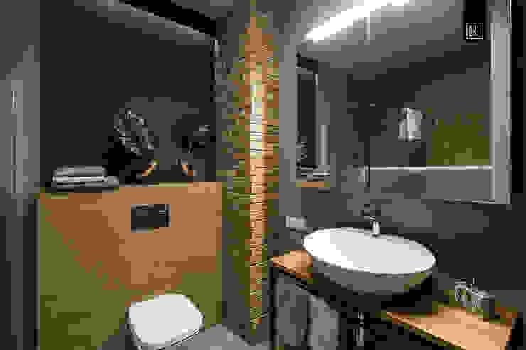 Industrial style bathroom by KODO projekty i realizacje wnętrz Industrial