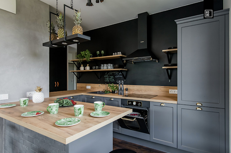 Кухня в стиле лофт от KODO projekty i realizacje wnętrz Лофт