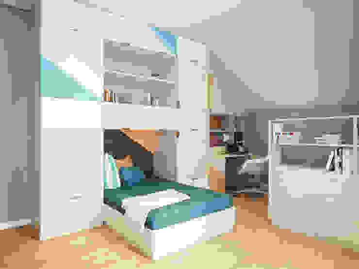House in Tomsk Quartos de criança modernos por EVGENY BELYAEV DESIGN Moderno