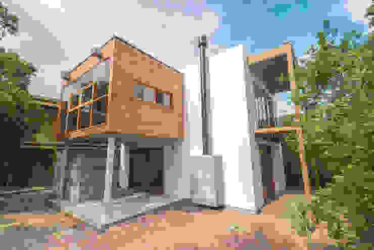 現代房屋設計點子、靈感 & 圖片 根據 A+R arquitetura 現代風