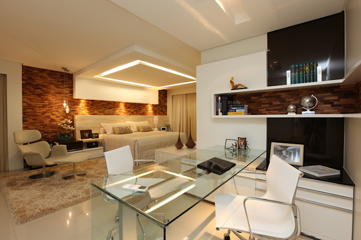 Modern Bedroom by Danielle Valente Arquitetura e Interiores Modern