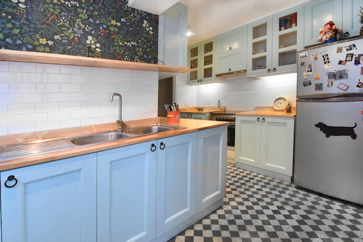 Tủ bếp by ARCOP Arquitectura & Construcción