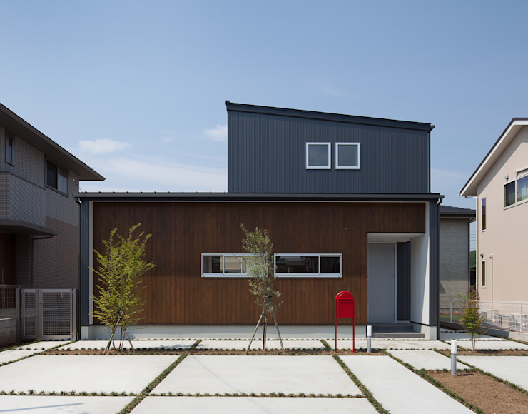 Casas de estilo  por 株式会社 井川建築設計事務所, Moderno