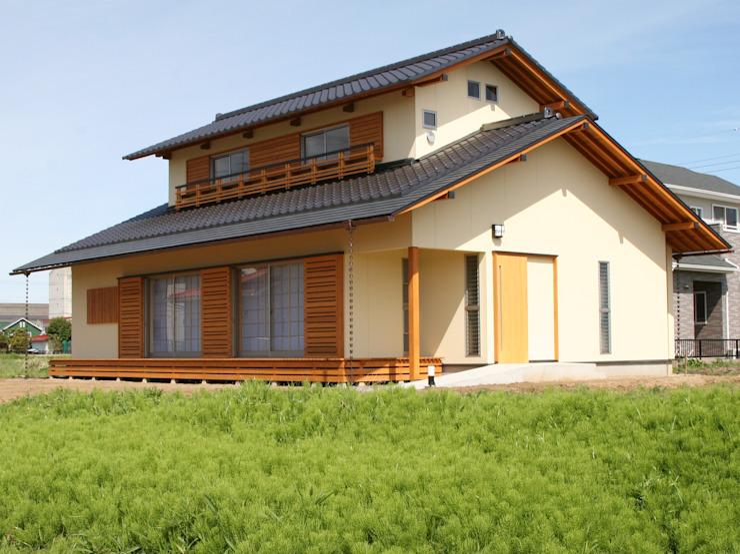 Rumah Gaya Asia Oleh 株式会社 井川建築設計事務所 Asia