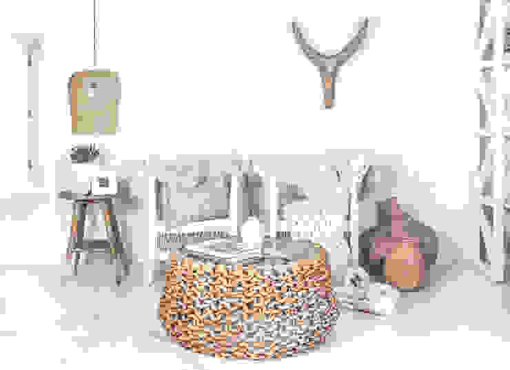 Malawi Chairs : scandinavian  by Atelier Lane | Interior Design, Scandinavian Rattan/Wicker Turquoise