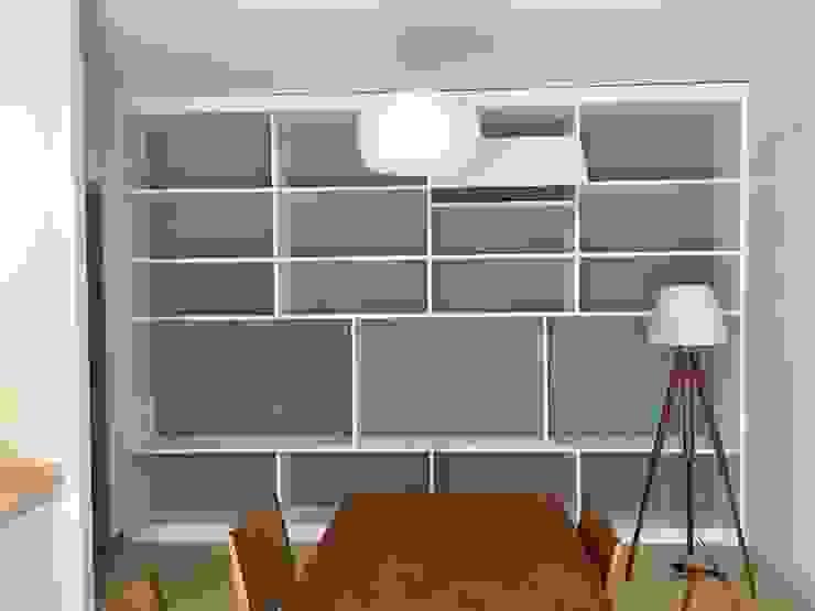 Salas / recibidores de estilo  por giulia pellegrino studio di progettazione