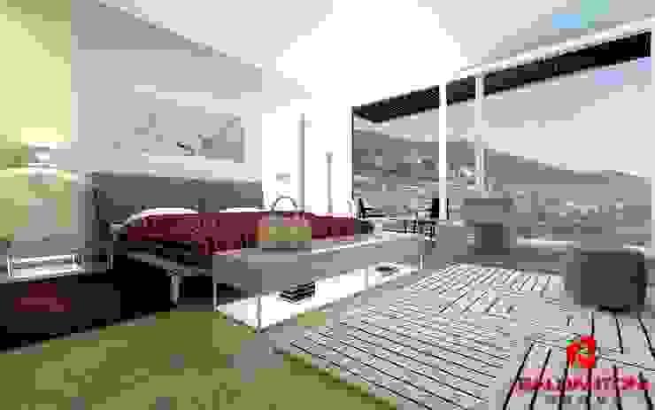 Camera da letto padronale Baldantoni Group Camera da letto moderna