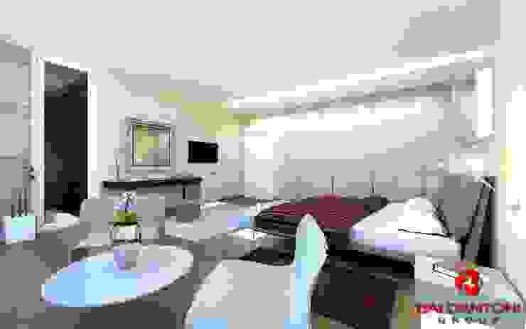 Camera da letto matrimoniale Baldantoni Group Camera da letto moderna