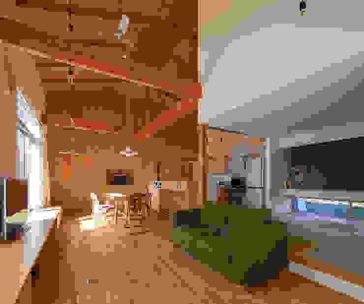 株式会社 井川建築設計事務所 Modern living room