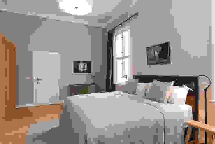 Rustic style bedroom by raumdeuter GbR Rustic