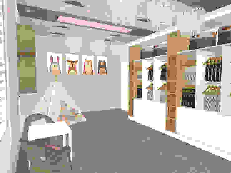 little girls room design: modern  by Kirsty Badenhorst Interiors, Modern