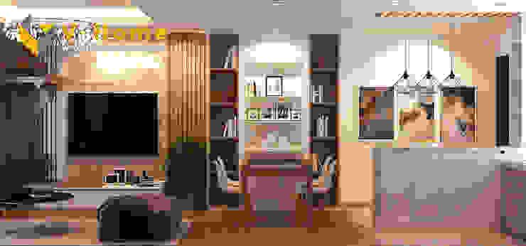 根據 Công ty CP Kiến trúc V-Home 現代風