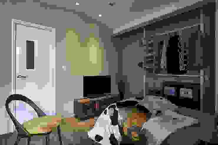 彩礫岩牆面 根據 第宅空間設計 現代風