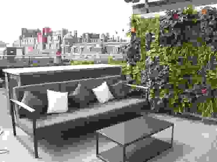 Ganton Street Roof Terrace London by Aralia Modern Iron/Steel