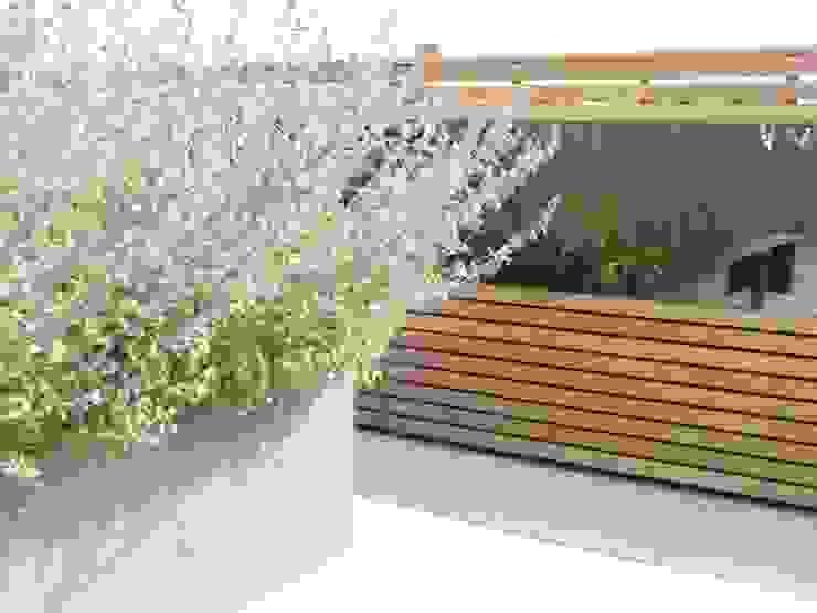 Ganton Street Roof Terrace London by Aralia Modern Wood-Plastic Composite