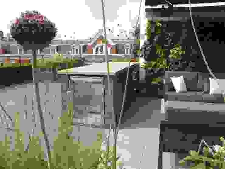 Ganton Street Roof Terrace London by Aralia Modern Wood Wood effect