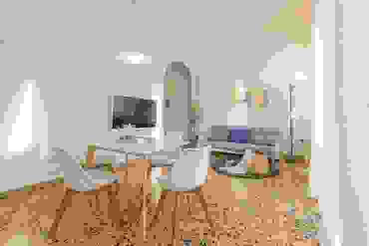 Salas de estilo  por Anna Leone Architetto Home Stager, Minimalista