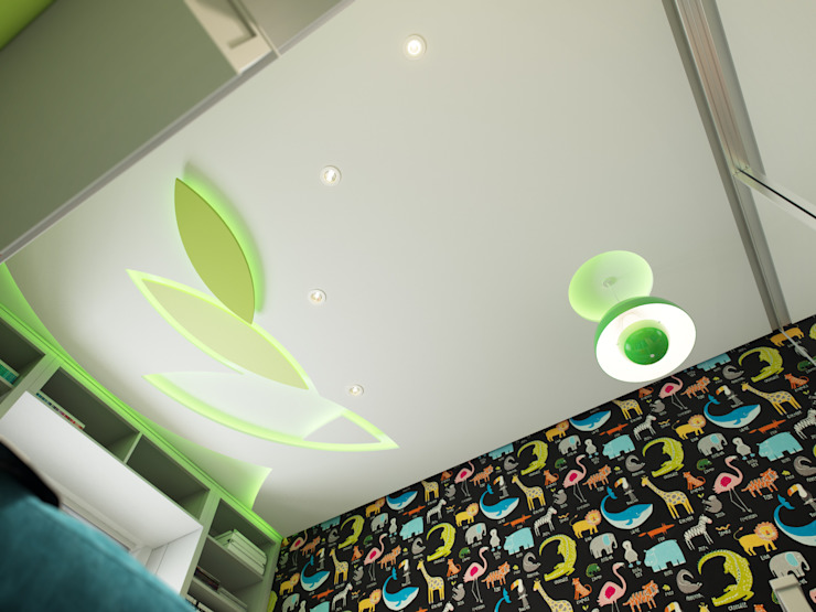 Apartment in Tomsk EVGENY BELYAEV DESIGN Modern nursery/kids room