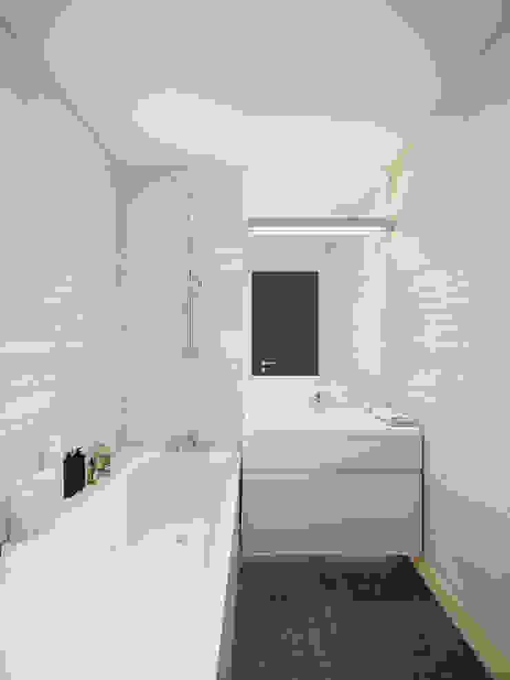 Apartment in Tomsk EVGENY BELYAEV DESIGN Modern bathroom