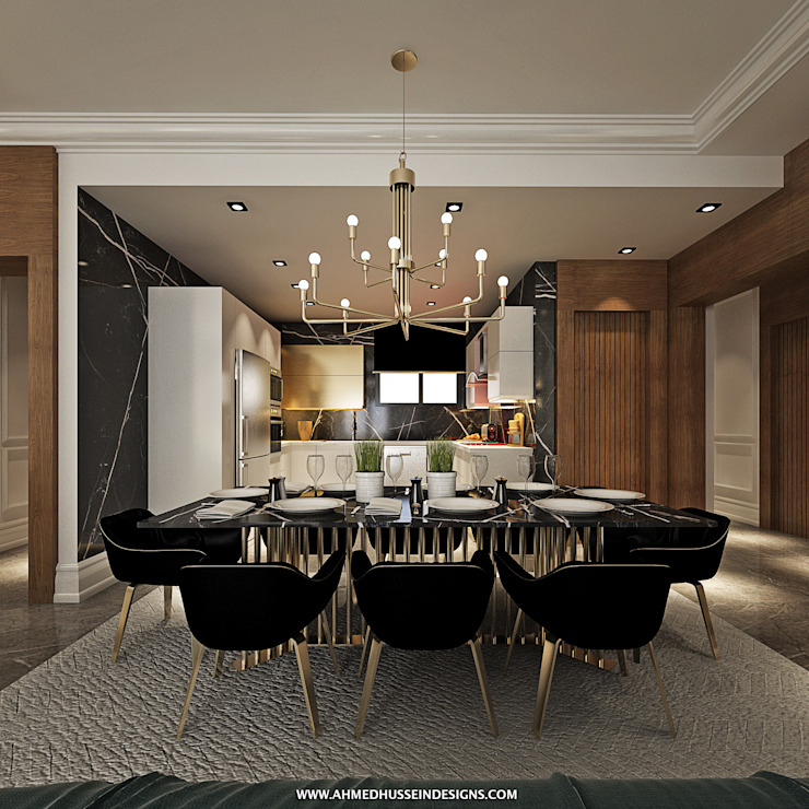 apartment من ahmed hussein designs إنتقائي