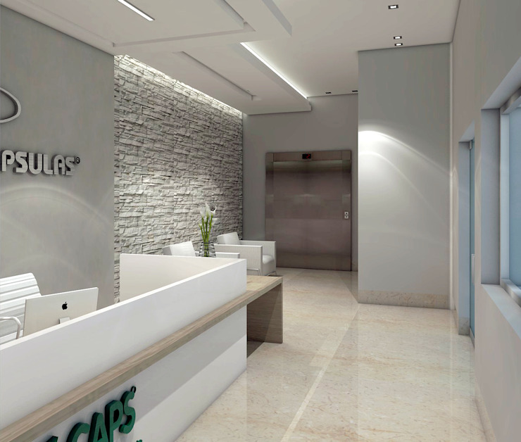 Diseño recepcion – Oficina Farmaceutica de Savignano Design