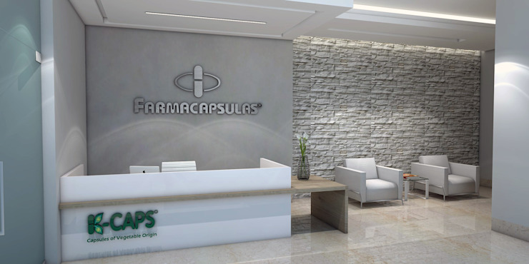 Diseño recepcion - Oficina Farmaceutica de Savignano Design