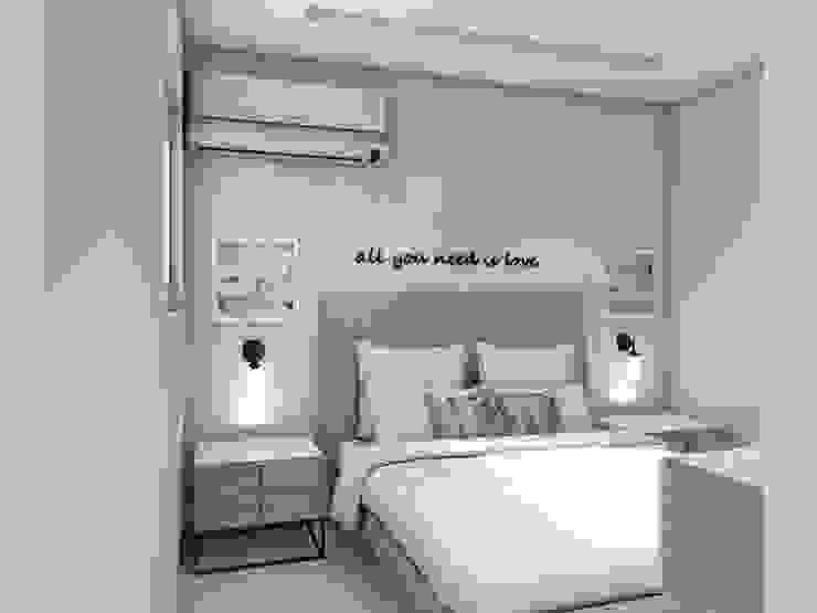 Diseño interior apartamento Modern Bedroom by Savignano Design Modern