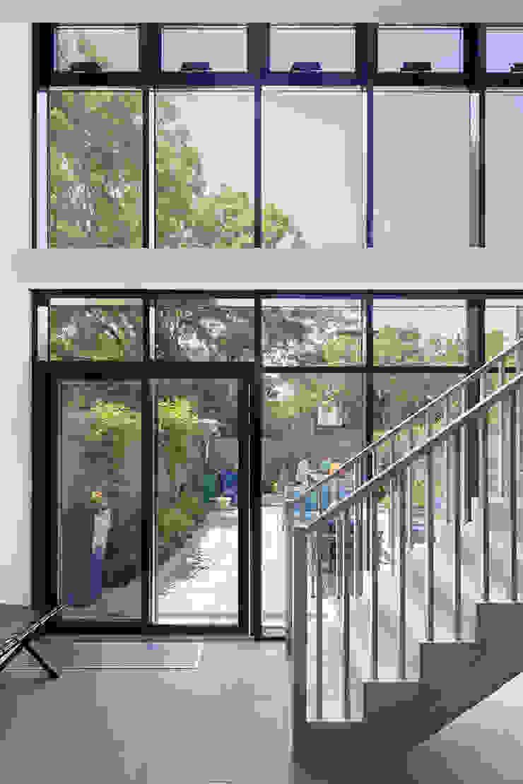 Carroll Gardens Townhouse Modern windows & doors by andretchelistcheffarchitects Modern