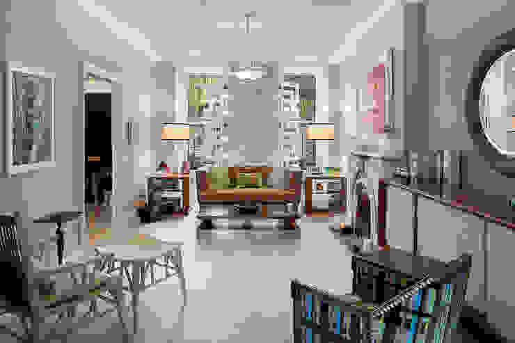 Carroll Gardens Townhouse Modern living room by andretchelistcheffarchitects Modern