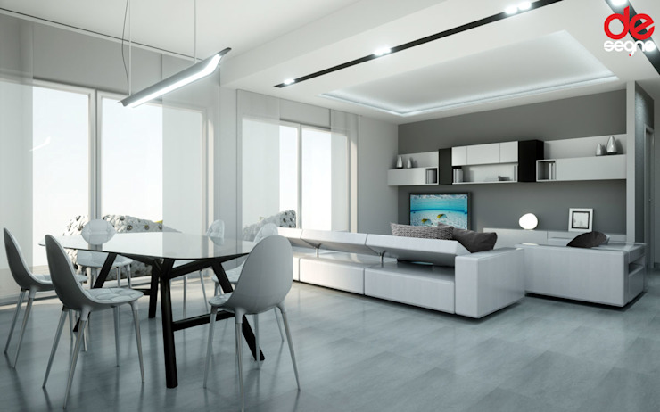 Emanuela Gallerani Architetto Modern living room